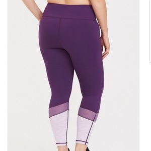 0f335efcb71502 torrid Pants | Purple Mesh Active Leggings | Poshmark